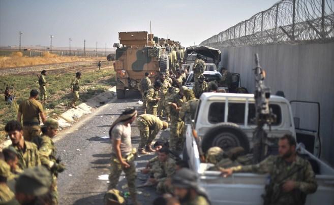 Barış Pınarı Harekatı'nda 4'üncü gün! Bomba kareler