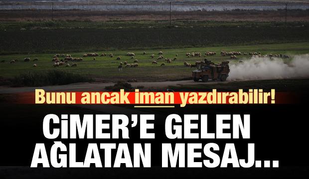 CİMER'e Barış Pınarı Harekatı'yla ilgili ağlatan mesajlar!