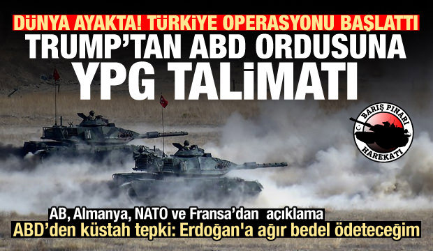 Türkiye harekat başlattı, tehdit etti: Erdoğan'a ağır bedel ödeteceğim