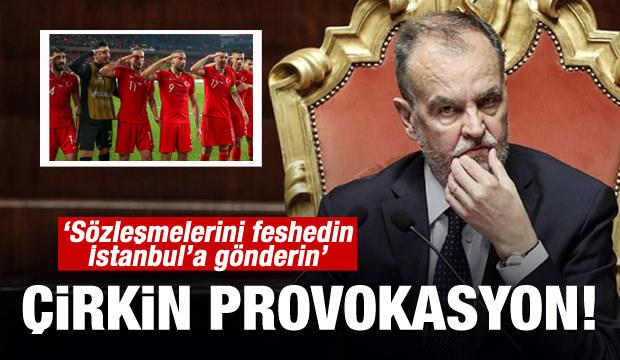 İyice çirkinleştiler! 'Sözleşmelerini feshedin, İstanbula gönderin...'
