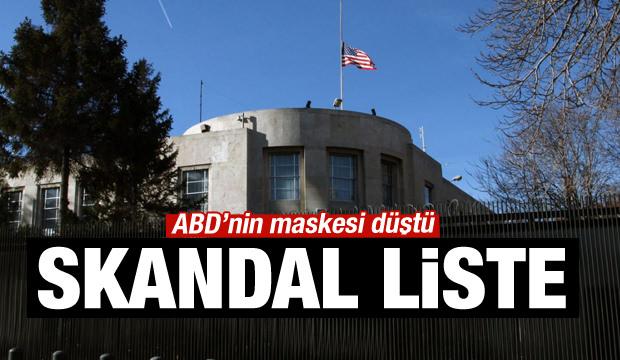 Skandal liste! ABD'nin FETÖ aşkı sosyal medyada