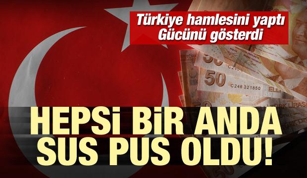 Türkiye hamlesini yaptı, gücünü gösterdi! Hepsi sus pus oldu!