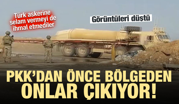 ABD askerleri Türk askerinin önünden böyle geçti!
