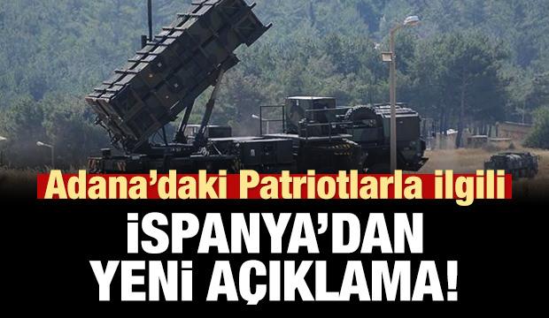 Adana'daki patriotlarla ilgili İspanya'dan yeni açıklama!