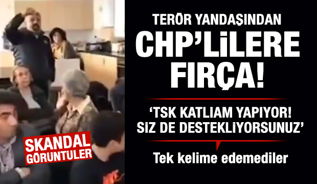CHP ofisinde büyük skandal!