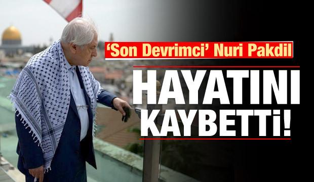 Türkiye'nin acı kaybı: Nuri Pakdil hayatını kaybetti