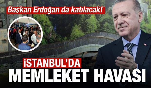 Rize, İstanbul'a Taşındı