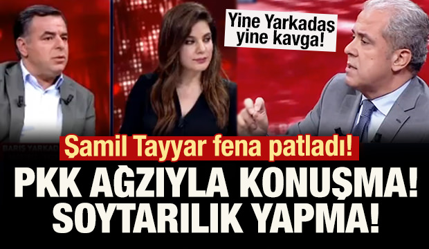 Şamil Tayyar Barış Yarkadaş'a fena patladı!
