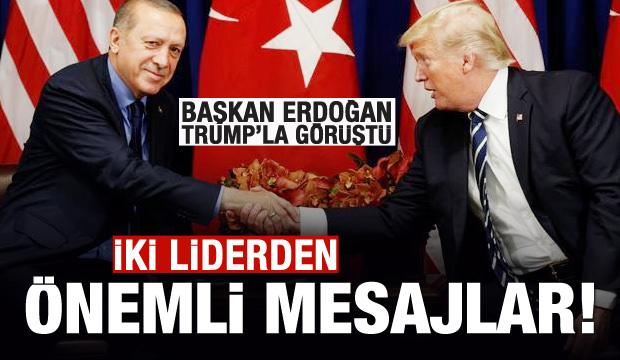 Son dakika haberi: Başkan Erdoğan'dan Trump açıklaması!
