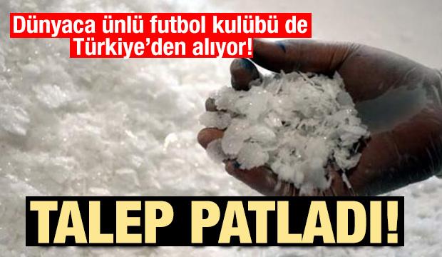 Talep patladı! Dünyaca ünlü futbol kulubü de Türkiye'den alıyor!