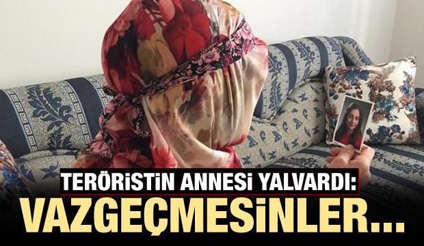 Teröristin annesi yalvardı: Vazgeçmesinler...