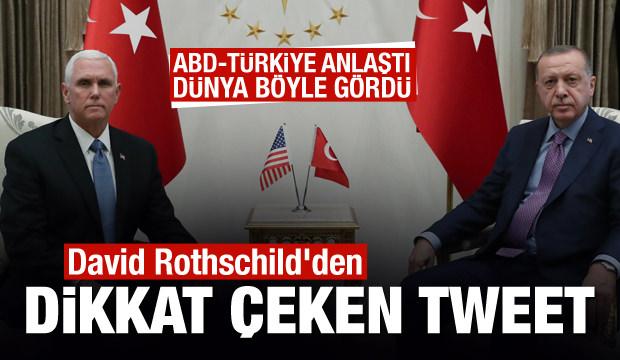 Türkiye-ABD zirvesi sonrası David Rothschild'den dikkat çeken tweet