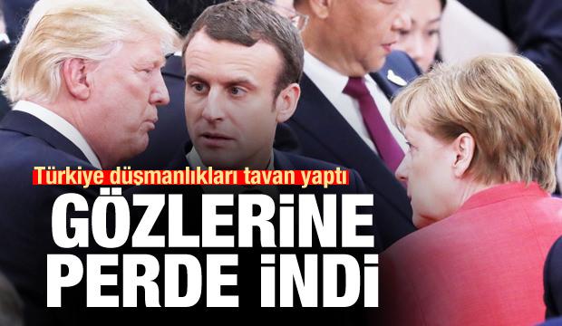 Türkiye düşmanlıkları tavan yaptı, gözlerine perde indi