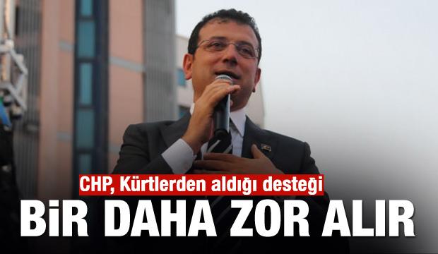 'CHP, Kürtlerden aldığı desteği bir daha zor alır'
