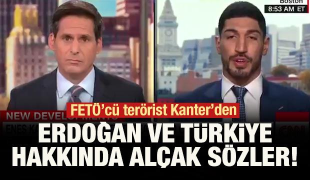 FETÖ'cü terörist Kanter'den Erdoğan ve Türkiye hakkında alçak sözler