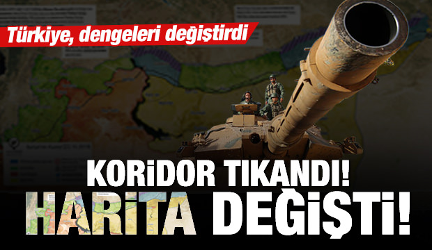 İşte Suriye'de son harita! Türkiye dengeleri değiştirdi