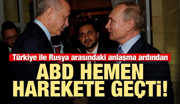 Son dakika haberi: Türkiye ile Rusya anlaşmasının ardından ABD hemen harekete geçti