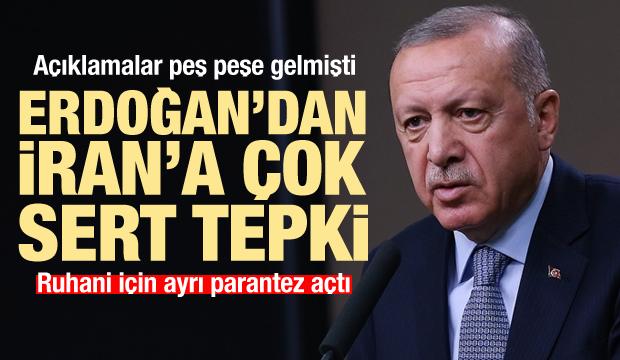 Son Dakika: Ruhani'ye ayrı parantez açtı! Erdoğan'dan İran'a tepki