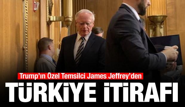 Trump'ın Özel Temsilcisi Jeffrey'den 'Türkiye' itirafı