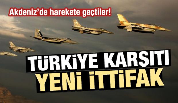 İsrail harekete geçti: Akdeniz'de Türkiye'ye gözdağı!