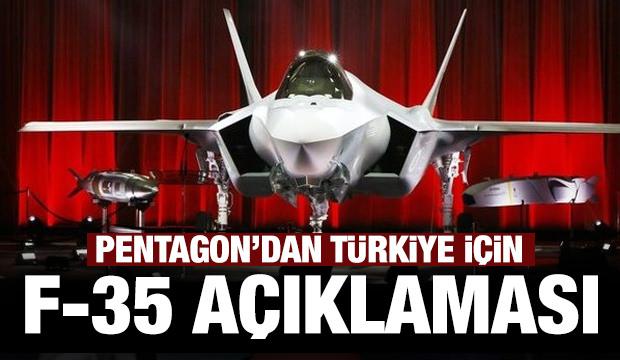 Pentagon'dan Türkiye için F-35 açıklaması