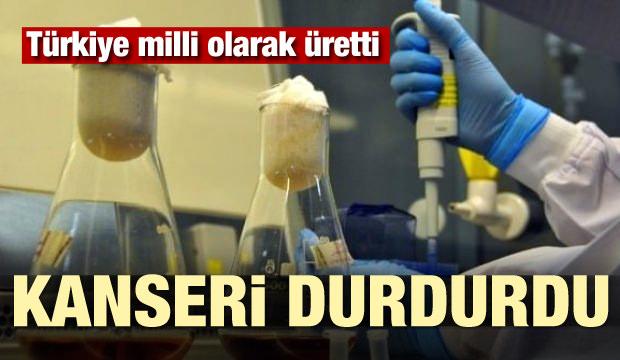 Türkiye milli olarak üretti! Kanseri durdurdu