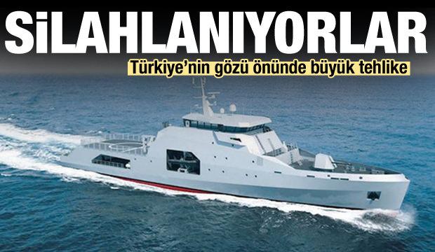 Türkiye'nin gözü önünde büyük tehlike! Silahlanıyorlar