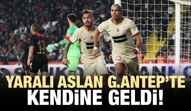 Galatasaray Gaziantep'te kendine geldi!