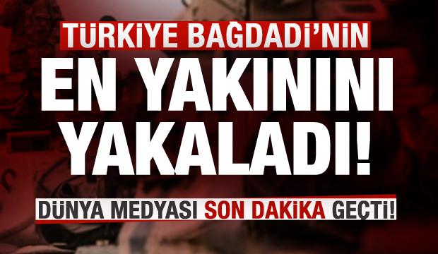 Türkiye DEAŞ elebaşı Bağdadi'nin ablasını yakaladı