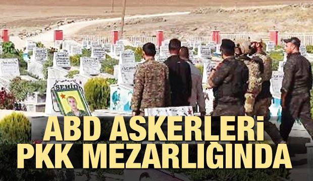 ABD askerleri PKK mezarlığında