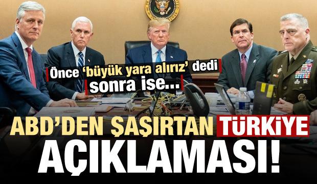 ABD'den şaşırtan Türkiye açıklaması! Önce yaptırım dedi sonra...