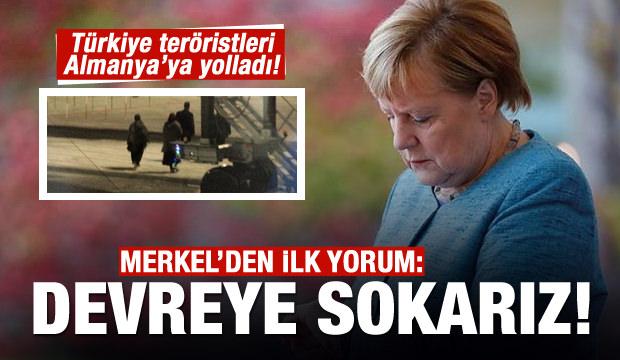 Alman vatandaşı 2 terörist sınır dışı edildi Merkel'den açıklama geldi