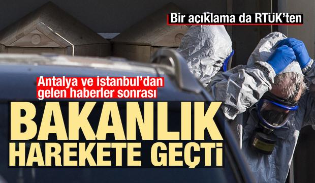 Antalya ve İstanbul'dan haberler geldi! RTÜK uyardı, Bakanlık açıkladı