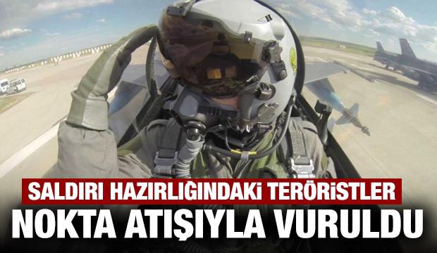 Haftanin'de saldırı hazırlığındaki teröristlere hava harekatı