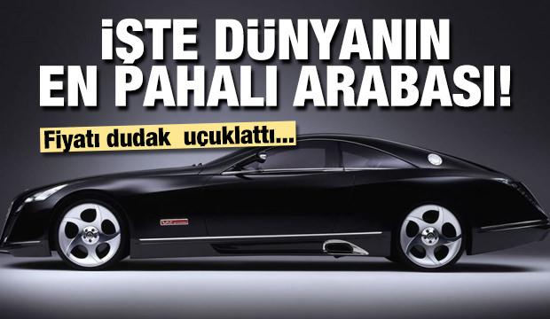 İşte dünyanın en pahalı arabaları!