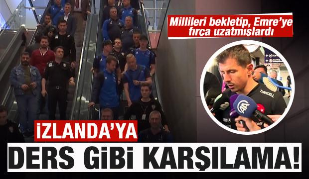 İzlanda Milli Takımı İstanbul'a böyle geldi