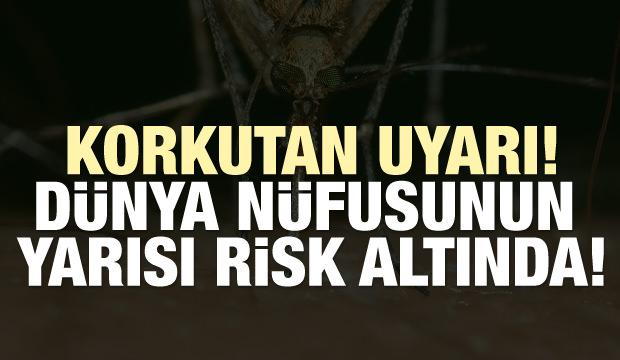 Korkutan uyarı! Dünya nüfusunun yarısı risk altında...