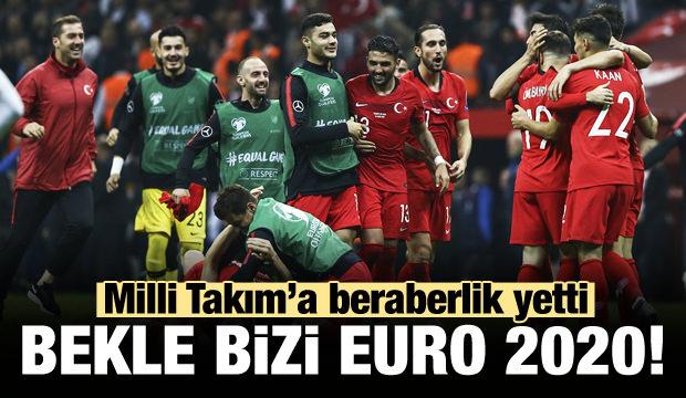 Milli Takımımız EURO 2020 biletini aldı!