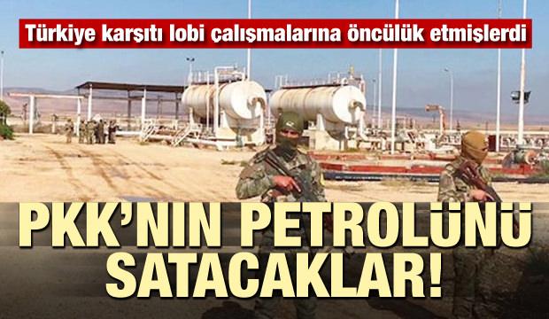 PKK'nın petrolünü satacaklar! Türkiye karşıtı lobi yapmışlardı...