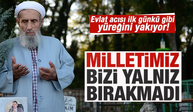 Şehit kaymakamın babası Asım Safitürk'ten duygu dolu sözler!