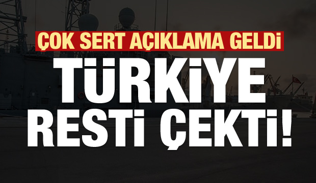Türkiye resti çekti! Çok sert KKTC açıklaması...