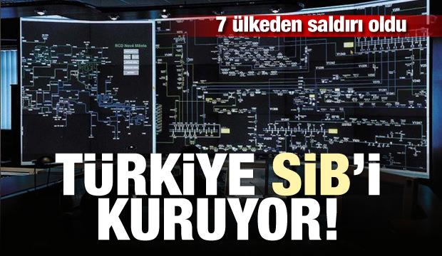 7 ülkeden saldırı oldu: Türkiye SİB'i kuruluyor
