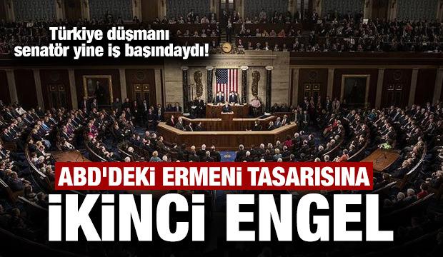 ABD'deki Ermeni tasarısına ikinci engel