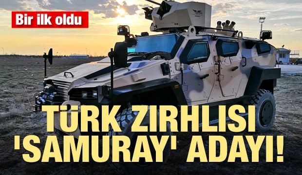 Bir ilk! Türk zırhlısı 'Samuray' adayı