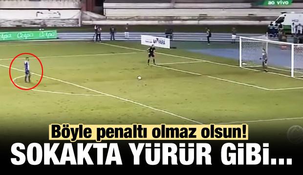 Böyle penaltı olmaz olsun!