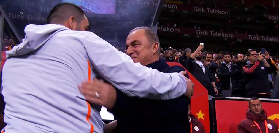 Büyük sürpriz! Arda Turan ve Fatih Terim...