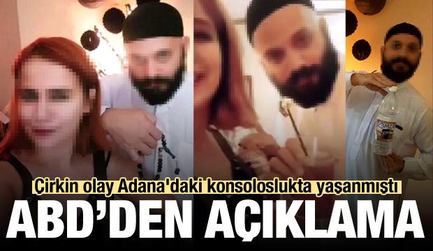 Çirkin olay Adana'daki konsoloslukta yaşanmıştı! ABD'den açıklama
