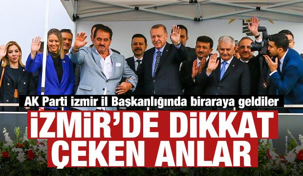 Cumhurbaşkanı Erdoğan İzmir'de! Dikkat çeken anlar...