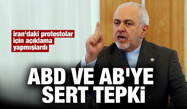 İran'dan ABD ve AB'ye sert tepki