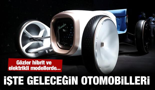 İşte geleceğin otomobilleri...
